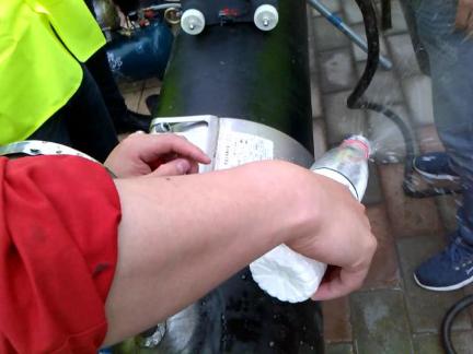 管道连接器用于天然气带压堵漏